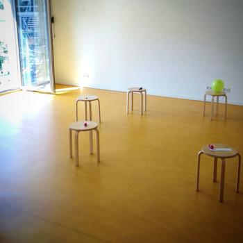 Bild: Das Forum mit Stühlen