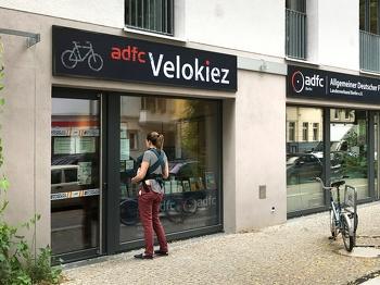 ADFC Fahrradwerkstatt in der Möckernstraße