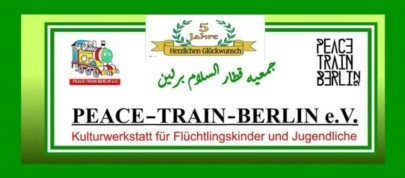Logo von Peace Train e.V. Berlin